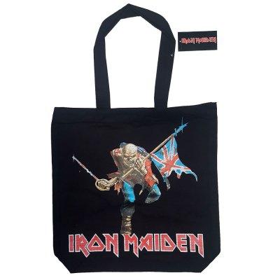 Iron Maiden Trooper Einkaufstasche mit Reißverschluss