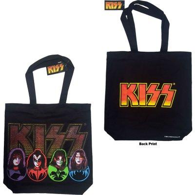 Kiss Faces & Logo Einkaufstasche mit...