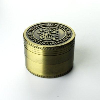 Grinder Antic Gold Ø: 60 mm, 4 Part mit Sieb und...