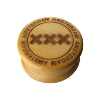 Grinder Wooden XXX Ø: 50 mm, 2 Part