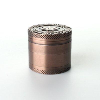 Grinder Cooper Ø: 40 mm, 4 Part mit Sieb und Schaber