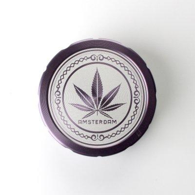Grinder Violett Ø: 50 mm, 2 Part