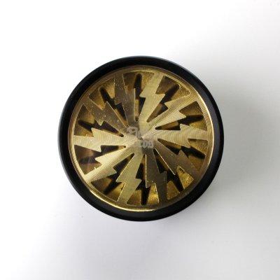 Grinder Gold Lightning Ø: 63 mm, 4 Part mit Sieb und Schaber