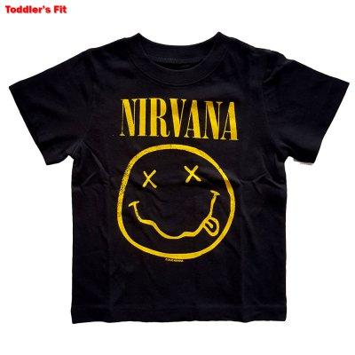Nirvana Kinder T-Shirt Yellow Smiley