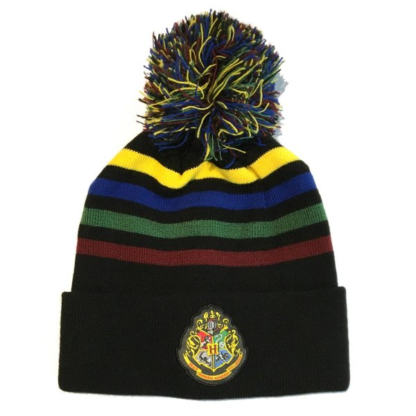 Harry Potter - Hogwarts Crest Beanie Mütze