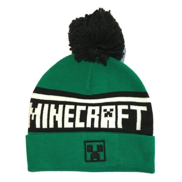 Minecraft - Creeper Logo Beanie Mütze