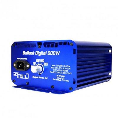 Superplant Vorschaltgerät Ballast Digital 600W, dimmbar