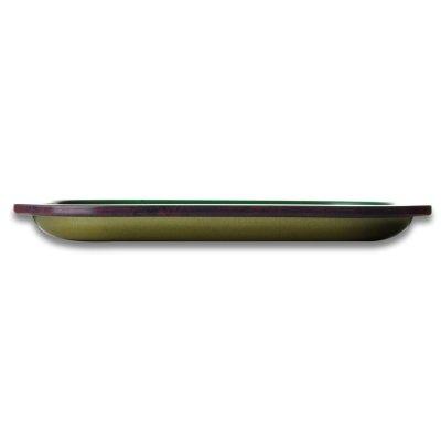 Rolling Tray Rasta Leaf 18 x 14 cm