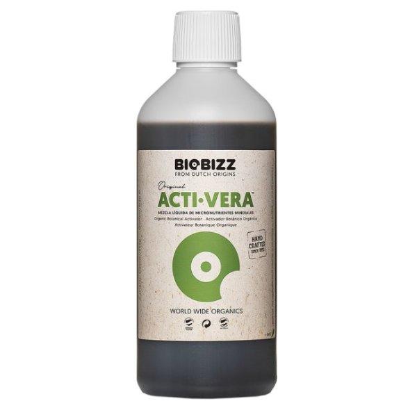 BioBizz Acti-Vera 0,5L Immunsystemaktivator für Erde und Coco