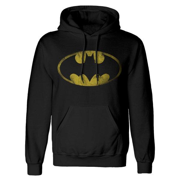 DC Batman Hoodie Distressed Jumbo Logo