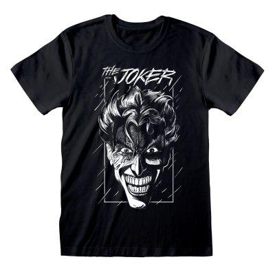 DC Batman T-Shirt Joker Sketch
