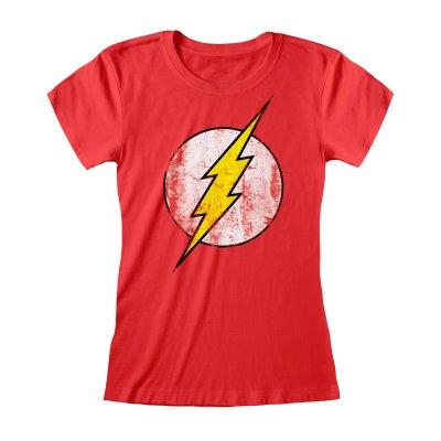 DC Flash Top Logo Rot