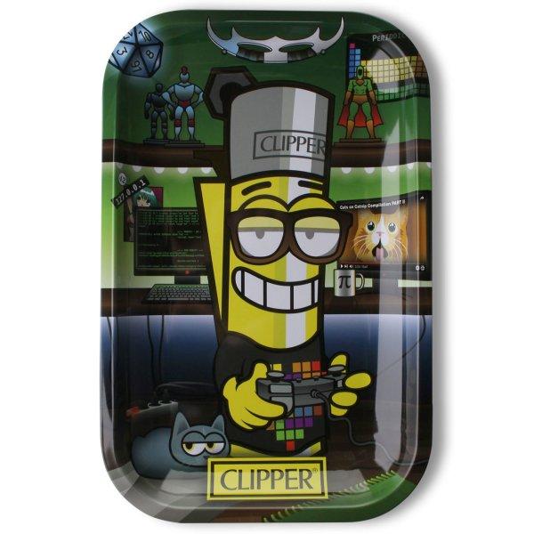 Clipper Rolling Tray CM Geek, 28 x 18,5 cm