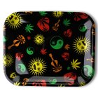 Clipper Rolling Tray Weed Shapes, 34 x 28 cm