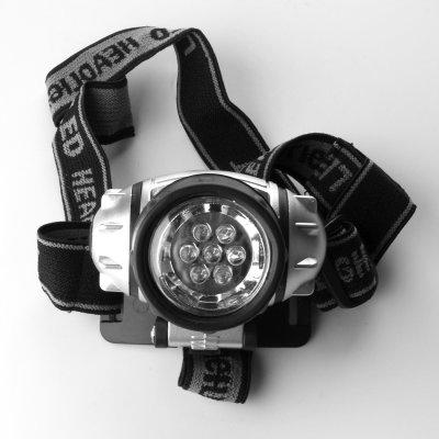 Elektrox LED Kopflampe, grün