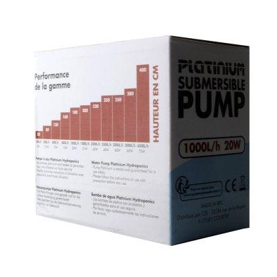 Platinium Wasserpumpe 1000 L/h von Platinium Hydroponics