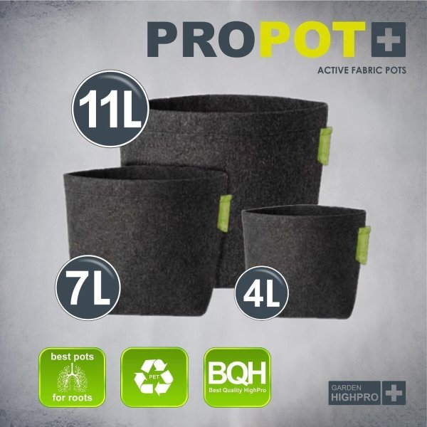 PROPOT 11L ohne Griffe von Garden High Pro