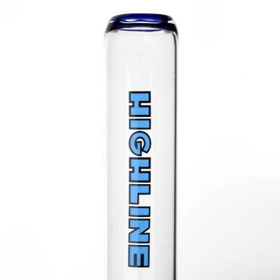 Cool Leaning Larry BLUE Bong 18,8er von Highline