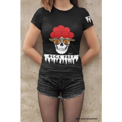 Blck Frst Morgenrot Girly mit Ärmellogo, Shirt