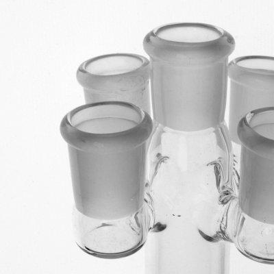 Glas Köpfchen Ständer für 5 18,8er male Köpfchen