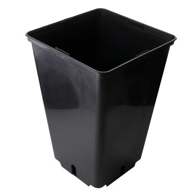 Topf viereckig 3L, 14,5 x 14,5 x 22 cm, schwarz