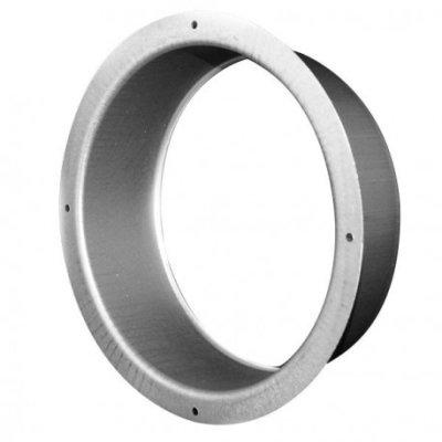 Metall Flansch 125mm, Lüftungskanal