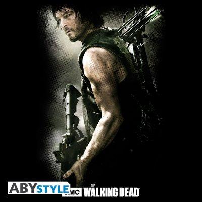 The Walking Dead Daryl Crossbow T-Shirt Schwarz