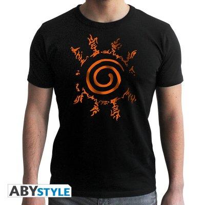 Naruto Shippuden Seal T-Shirt Schwarz