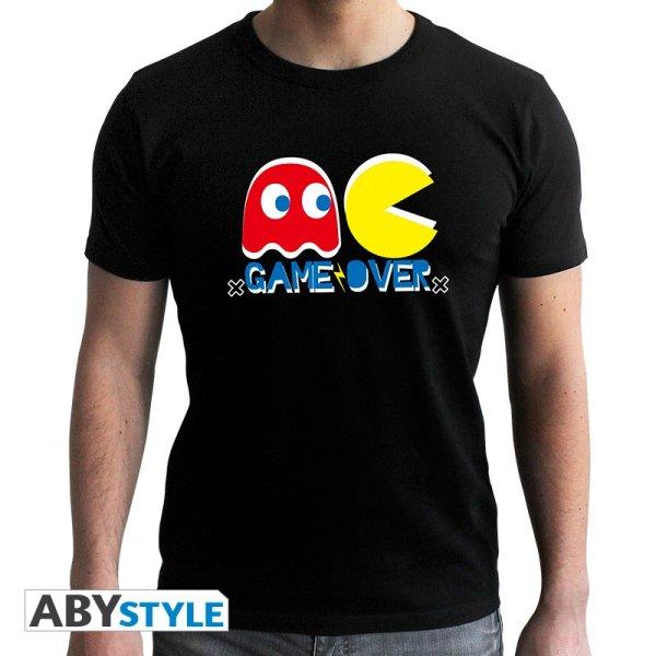 Pac Man Game Over T-Shirt Schwarz