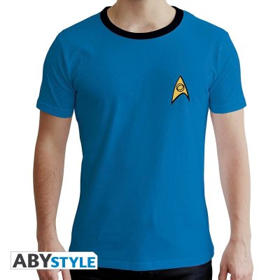 Star Trek Crew T-shirt Blau