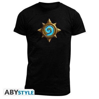 Hearthstone Rosace T-Shirt Schwarz