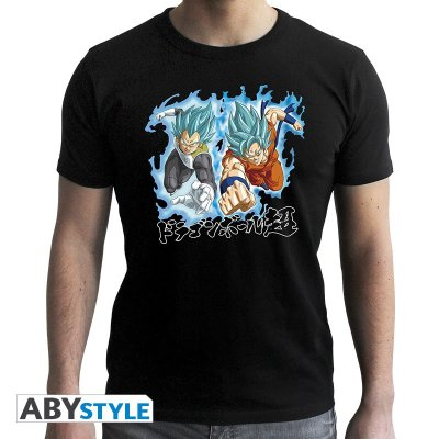 Dragon Ball Super Goku & Vegeta T-Shirt Schwarz