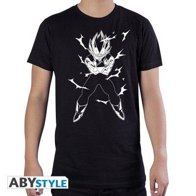 Dragon Ball DBZ Vegeta T-Shirt Schwarz