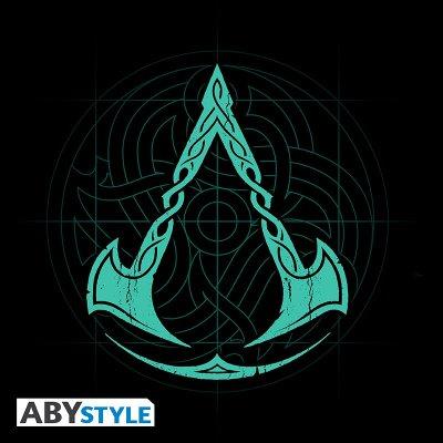 Assassins Creed Valhalla Crest T-Shirt Schwarz
