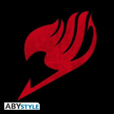 Fairy Tail Emblem Top Schwarz